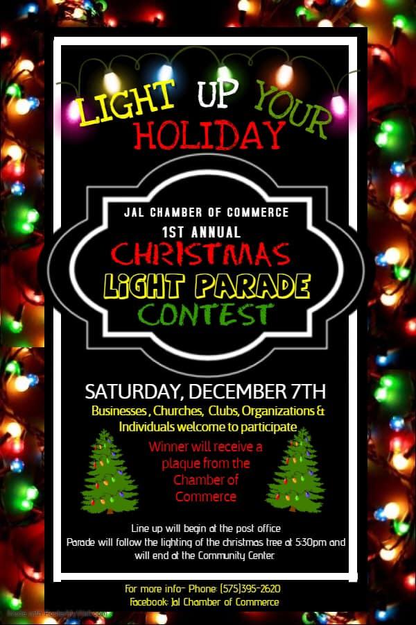 parade - Jal Chamber Christmas Celebration December 7